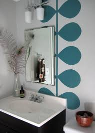 Awesome Picture Of Bathroom Wall Murals  Catchy Homes Interior Bathroom Wallpaper Murals
