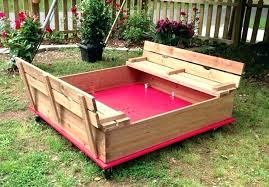 sandbox with cover wooden sandbox with cover pallet sandbox on wheels covered sandbox with benches wooden sandbox with cover