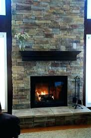 s rock fireplace