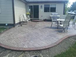 simple concrete patio designs. Plain Patio Concrete Patio Designs Decks Design Ideas Simple Home Amp Slab Garden Desi On Simple Concrete Patio Designs C