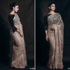 Glitter Designs Sarees Turns Out Glitter Sarees Are Not That Tricky To Wear Keep