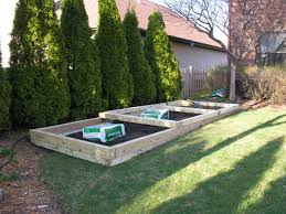 how to build a raised bed vegetable garden stylish building