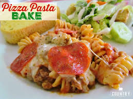 How To Cook A Pizza Pizza Pasta Bake The Country Cook