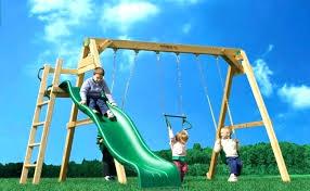 outdoor swing set plans kids wooden swing kid outdoor swing set backyard swing sets kids wooden outdoor swing set plans