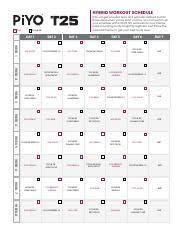 Cal_piyo T25_02 Pdf Hybrid Workout Schedule Piyo Piyo Will