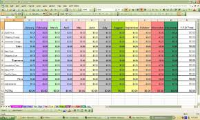 Sample Budget Spreadsheet For A Business And Sample Budget ...