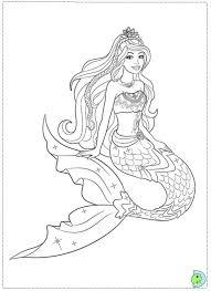 Realistic Mermaid Coloring Pages Best Of Barbie Mermaid Printable