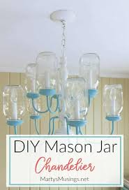 Mason jar lighting diy Ceiling Light Box Have Some Extra Mason Jars And An Outdated Chandelier Turn Them Into Clever Diy Martys Musings Diy Mason Jar Chandelier Step By Step Instructions