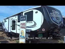 new 2016 heartland rv road warrior 415 mount fort rv