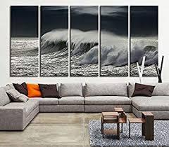 tanda extra large canvas black ocean wave wall art wave on ocean canvas print extra large on extra large ocean wall art with amazon tanda extra large canvas black ocean wave wall art wave