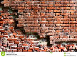 Crumbling Brick Wall Printed Photography Backdrop 001 Exterior