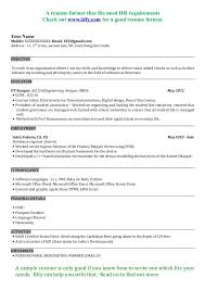 electronic engineering technician resume sample resume format for electronic engineer resume sample