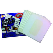 self adhesive goof patch smooth mis
