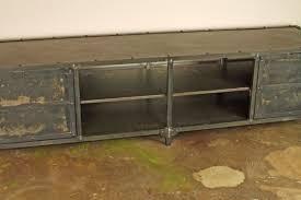 Reclaimed Media Cabinet Beautiful Vintage Media Cabinet 4 Reclaimed Wood Industrial Tv