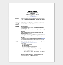 Science Resume Template Stunning Engineering Resume Template 48 Examples For Word PDF Format