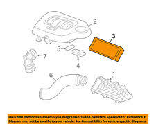 chevrolet hhr air filters chevrolet gm oem 06 11 hhr engine air filter element 22731072 fits chevrolet hhr