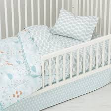 Well Nested Toddler Bedding (Blue) | Crate and Barrel &  Adamdwight.com