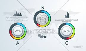 Creative Infographic Template Layout With Statistical Graphs For Financial Growth Business Reports And Presentation