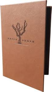 15 Best Genuine Leather Menu Covers Images Menu Cover
