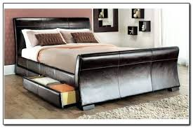 king size bed with storage drawers. King Bed With Storage Underneath Best Size Drawers Furniture Brown Wooden R