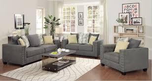 Gray Living Room Furniture Sets New Imposing Decoration  Cozy Design Decorating