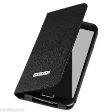 samsung galaxy s5 wallet cases. genuine leather hugo boss folianti flip wallet case for samsung galaxy s5 black cases