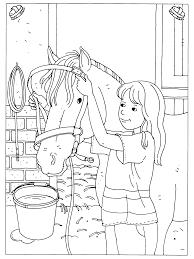 Kleurplaat Paard Met Veulen