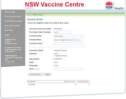 Ordering Vaccines