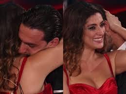 Raimondo Todaro in lacrime dopo il valzer con Elisa Isoardi a Ballando Con  Le Stelle