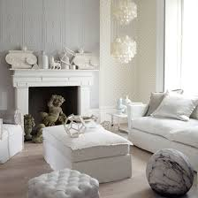 white sitting room furniture. White Living Room With Interesting Decorations | Living Ideas  PHOTO GALLERY White Sitting Furniture G