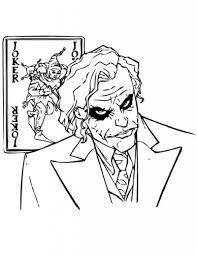You might also like these coloring pages: The Joker Coloring Pages Free Download Usable Educative Printable