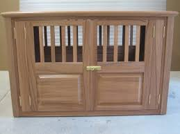 wooden dog crate furniture. Wood Dog Crate Mahogany-Small View Full Size Wooden Furniture