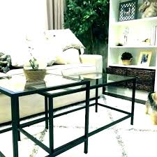 luxury stacking end tables for living room coffee table rd copper black nesting top weir s
