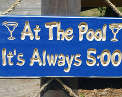 Swimming Pool Decor Signs Swimming Pool Signs Etsy 22