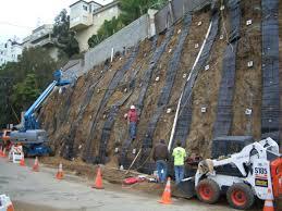 soil nail rening wall
