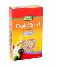 Cockatiel Diet Chart Wild Harvest Daily Blend Nutrition Diet 2 Pounds For Cockatiels Lovebirds And Small Hookbills