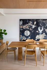contemporary dining room with wooden table and chairs maintain your dining tables