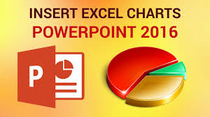 How To Insert Excel Charts And Spreadsheets In Powerpoint 2016