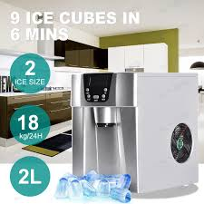 Cube Ice Maker Portable Automatic Ice Cube Dispenser Digital Ice Maker Machine