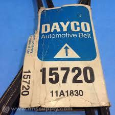 Dayco Rubber 15720 11a1830 Top Cog V Belt Great Deals