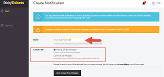 Send Email Sms Reminders To Attendees Before The Event