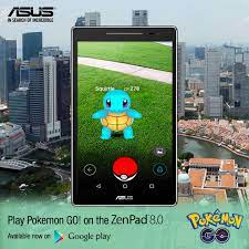 ASUS - [BREAKING NEWS!] The wait is over! Pokemon GO! is finally available  in Singapore on Android. Play Pokemon GO! on the ASUS ZenPad 8:  bit.ly/NewZenPad8