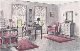 1923 Gray U0026 Pink Bedroom