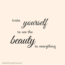 Simple Beauty Quotes And Sayings