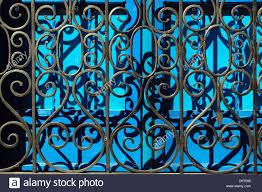 Decorative Metal Grates Decorative Iron Ironwork Window Grates On Wood Shuttered Windows