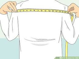 Costume Measurement Sheet Template How To Measure For A Suit With Pictures Wikihow