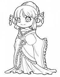 Cute Princess Coloring Pages At Getdrawingscom Free For Personal
