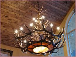 ideas deer antler chandelier