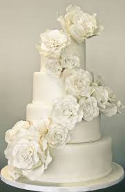 31 exquisite all white wedding cakes weddingomania