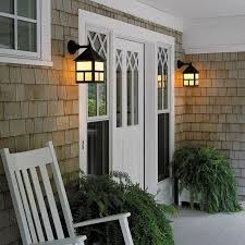 cottage outdoor lighting. cottage exterior wall light provides front entry porch lighting outdoor